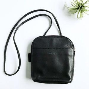 Fossil Leather Mini Crossbody Purse Wallet Bag